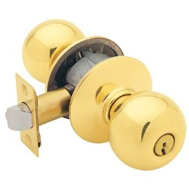 Schlage F51VORB505/605 Orbit Knob Entry Lockset