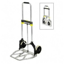 Safco(R) Large-Size Stow-Away(TM) Hand Truck, 275 Lb. Capacity, 7 Wheels