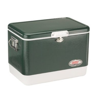 Coleman Steel-Belted Cooler (54 Quart, Green)