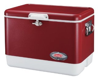 Coleman Steel-Belted Cooler (54 Qt., Red)