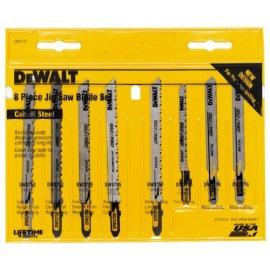 DEWALT DW3791 8-Piece T-Shank Jig Saw Blade Set
