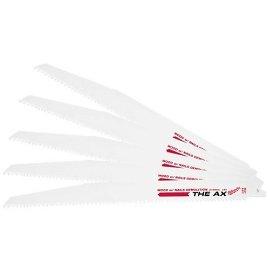 Milwaukee 48-00-5027 The AX 12, 5/8 TPI Super Sawzall Blade (5-Pack)