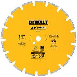 DEWALT DW4746 14-inch Segmented Rim Asphalt/Green Concrete