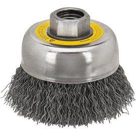 DEWALT DW4910 3 x 5/8-11 Knotted Cap Brush/Carbon Steel