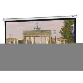 Da-Lite Manual 106 Diagonal HDTV Format Home Theater Wall Screen with Matte White Fabric