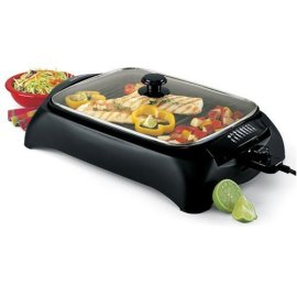 West Bend 6111 Heart Smart Indoor Grill, Black