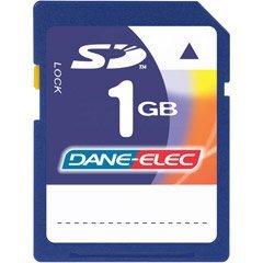 DANE-ELEC Dane-Elec 1 GB Secure Digital Memory Card DA-SD1024-R