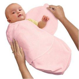 Pink SwaddleMe Adjustable Newborn Wrap