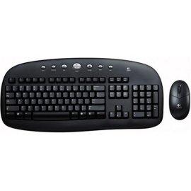 Logitech Cordless Desktop - Black