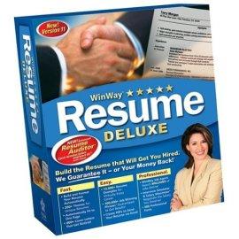 WinWay Resume Deluxe 11.0
