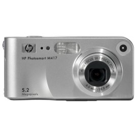 HP Photosmart M417 5MP Digital Camera with 3x Optical Zoom - M417 Digital Camera