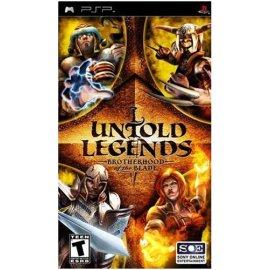 PSP Untold Legends: Brotherhood of the Blade