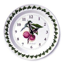 Portmeirion Pomona Earthenware 10-Inch Kitchen Wall Clock