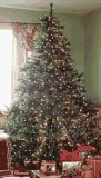 Artificial Christmas Tree Prelit Douglas Fir - 7.5ft H x 68in W