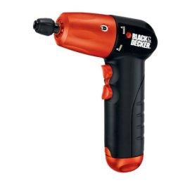 Black & Decker AD600 6-Volt Alkaline Drill with Accessories
