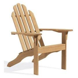 Oxford Garden Designs Adirondack Chair - Natural