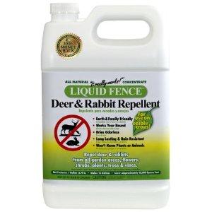 Liquid Fence® Deer & Rabbit Repellent 1 Gallon Concentrate