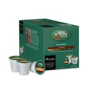 Green Mountain 15509 Dark Magic Coffee K-Cup (18 Count)