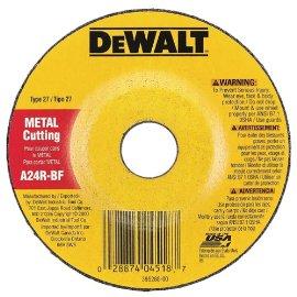 DEWALT DW4419 4 X 1/4 X 5/8 General Purpose Metal Cutting Wheel (25-Pack)
