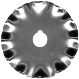 OLFA Stainless Steel Scallop Blade