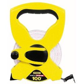 Stanley 34-790 100' Open Reel Fiberglass Long Tape Rule