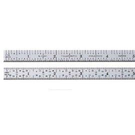 Starrett C305R-6 6 10ths & 100ths-64ths & 32nds Flexible Satin Chr Rule