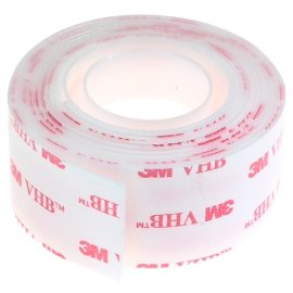 3M 4011 Mounting Tape Heavy Duty Clear