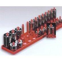 Hansen 3802 Post Style Socket Organiser -3/8 Drive; Metric