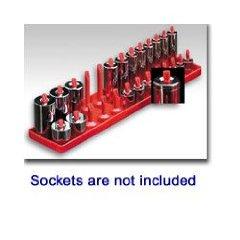 Hansen 1401 Post Style Socket Organiser - 1/4 Drive; SAE