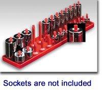 Hansen 1402 Post Style Socket Organiser - 1/4 Drive; Metric