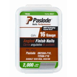 Paslode 650232 2-1/2 16 Gauge Angled Finish Nail (2,000)