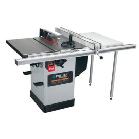 Delta 36 717 10 Hybrid Saw With 30 Biesemeyer Fence Rail And Table Board Gosale Price