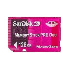 SanDisk 128 MB Pro Duo Gaming Memory Card