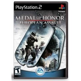 PS2 Medal of Honor European Assault