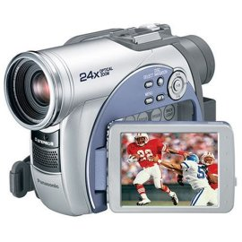Panasonic VDR-M53 DVD Camcorder w/18x Optical Zoom