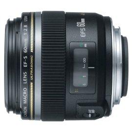 Canon EF-S 60mm f/2.8 Macro USM Digital SLR Lens for Digital EOS Rebel Cameras (0284B002)