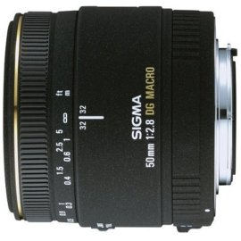 Sigma 50mm F/2.8 EX DG Macro Lens for Canon Digital SLR Cameras