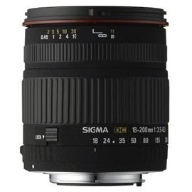Sigma 18-200mm f/3.5-6.3 DC Lens for Nikon Digital SLR Cameras