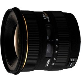 Sigma 10-20mm f/4-5.6 EX DC HSM Lens for Sigma Digital SLR Cameras