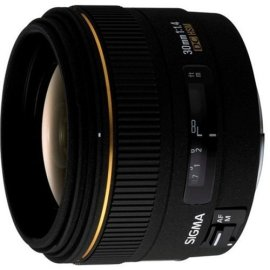 Sigma 30mm f/1.4 EX DC HSM Lens for Sigma Digital SLR Cameras