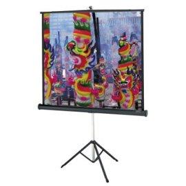 Da-Lite Versatol Tripod Projection Screen - Square Format - 50 x 50 Matte White