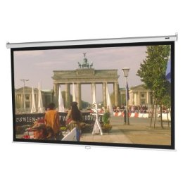 Da-Lite Model B Manual Wall and Ceiling Projection Screen - Square Format - 70 x 70 Matte White