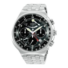 Citizen Calibre 2100 Eco-Drive Chronograph Black Face