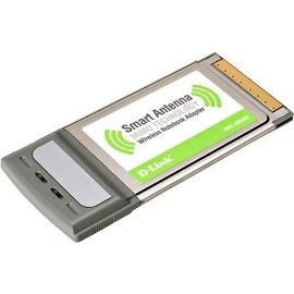 D-Link DWL-G650M Wireless Cardbus Adapter, Super G with MIMO technology, 802.11g, 108Mbps