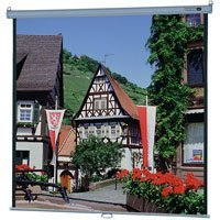 Da-Lite Model B Manual Wall and Ceiling Projection Screen - Square Format - 84 x 84 Matte White
