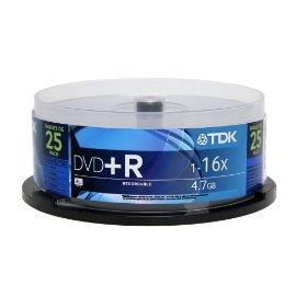 TDK DVD+R47FCB25 DVD+R47FCB25