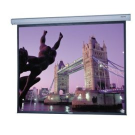 Da-Lite 120 Diagonal Video Format Home Theater Electric Wall Screen with High Power Fabric