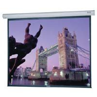Da-Lite 106 Diagonal HDTV Format Home Theater Electric Wall Screen with High Power Fabric