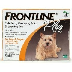 Frontline Plus For Small Dogs Price Comparison