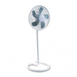 Holmes 16in. Oscillating 4-In-1 Stand Fan, White
